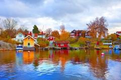 colorful-swedish-houses