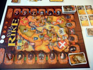Svea Rike game board